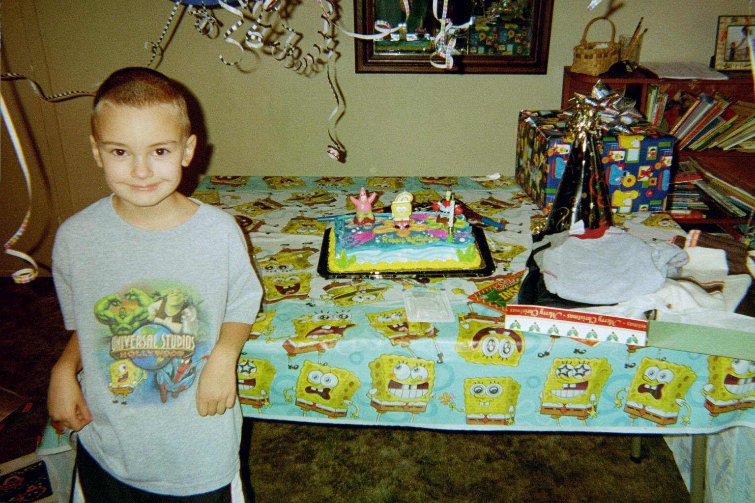 Grandson Paul's recent birthday party